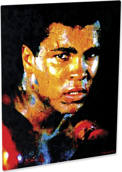 """Muhammad Ali Print """"Affirmation Realized"""" by Mark Lewis"""
