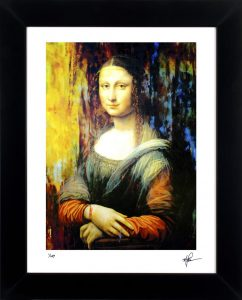 "Mona Lisa ""Ageless Charm"" by Mark Lewis"