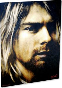 "Kurt Cobain ""As Darkness Fell"" by Mark Lewis"