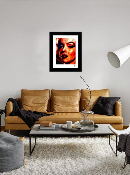 """Marilyn Monroe """"Because I Am"""" by Mark Lewis"""