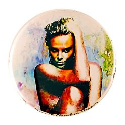 "Charlize Theron ""Blue Daze Two"" by Mark Lewis"