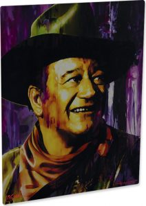"John Wayne ""Brilliant Dawn"" by Mark Lewis"