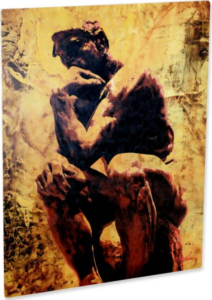 """Rodin """"Clarified Thought"""" by Mark Lewis"""