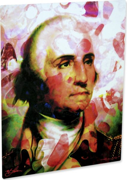 "George Washington ""Disciplined Soul"" by Mark Lewis"