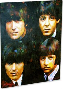 "The Beatles ""Fab 4"" by Mark Lewis"