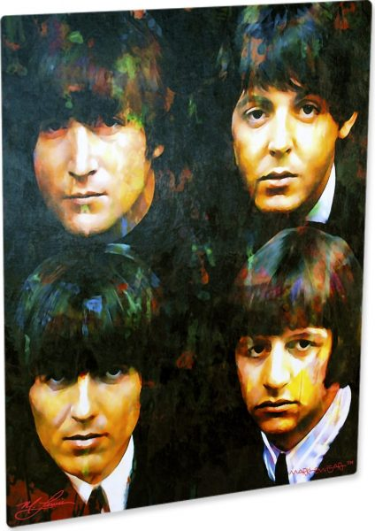 """The Beatles """"Fab 4"""" by Mark Lewis"""