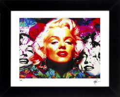 "Marilyn Monroe ""Four Marilyn"" by Mark Lewis"