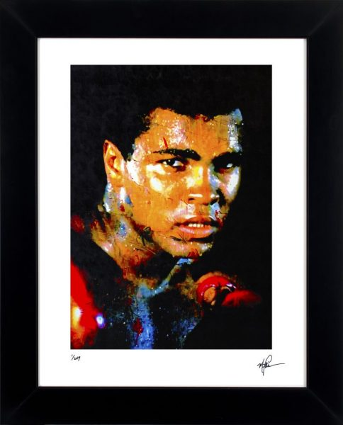 Muhammad Ali Print - Affirmation Realized by Mark Lewis
