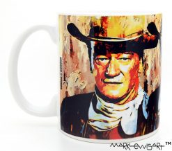 "John Wayne ""Gallant Duke"" by Mark Lewis"