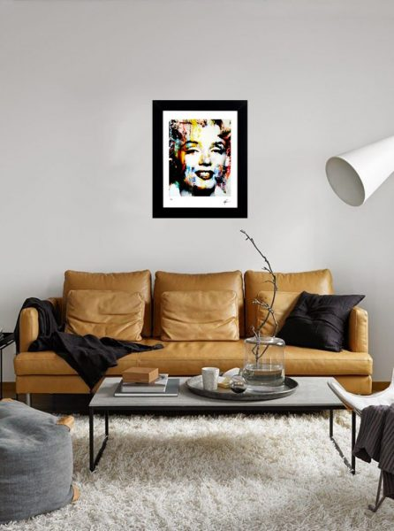 "Marilyn Monroe Print ""Hollywood Soul"" by Mark Lewis"