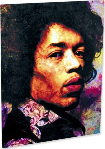 "Jimi Hendrix ""Imagination Key"" by Mark Lewis"