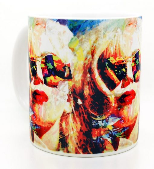 Lady Gaga Mug - Lady Gaga Study 2 by Mark Lewis