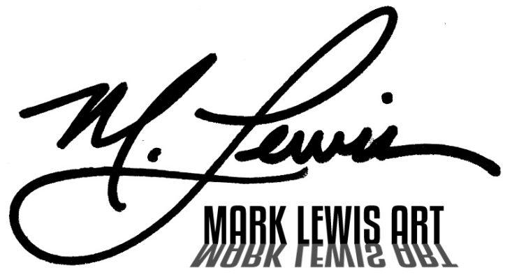 Mark Lewis Art Logo