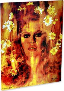 "Bridgitte Bardot ""Life Captured"" by Mark Lewis"