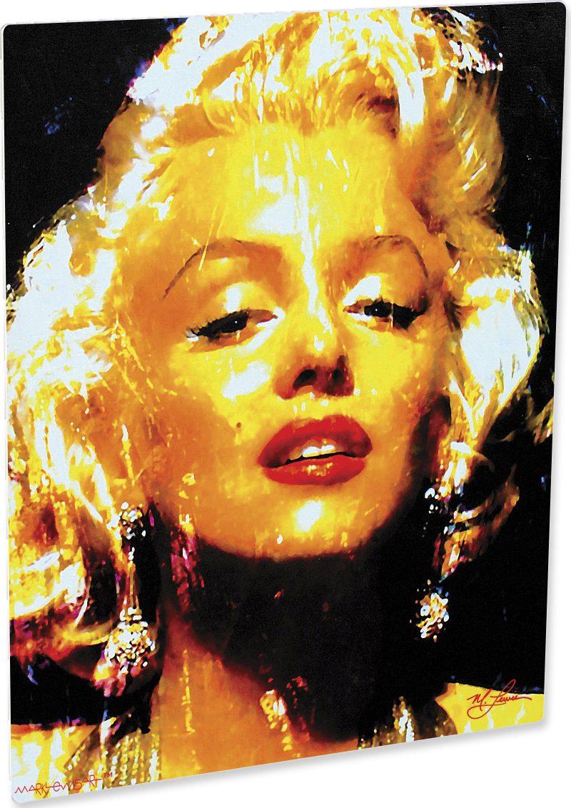 Marilyn Monroe art print painting lovely wall decor | Mark Lewis Art