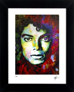 "Michael Jackson ""Michael Jackson Study One"" by Mark Lewis"