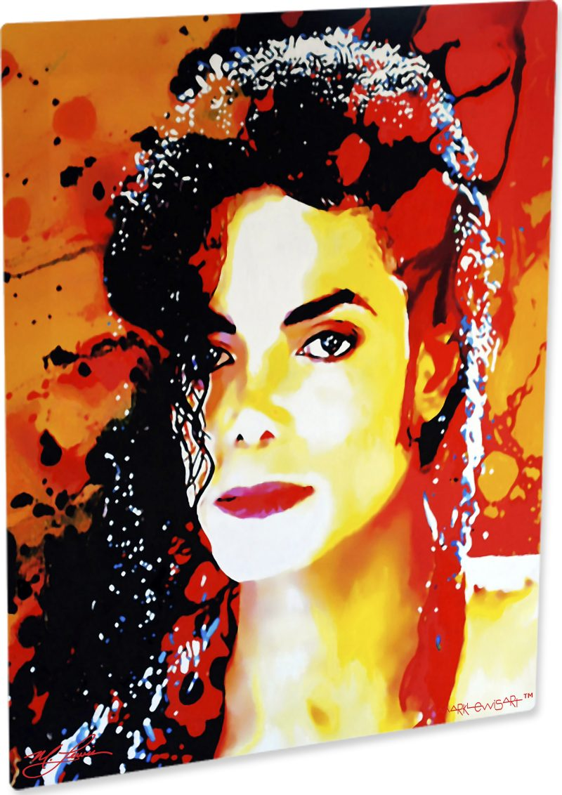 Michael Jackson art print painting dynamic wall decor | Mark Lewis Art