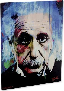 "Albert Einstein ""Questioning Tomorrow"" by Mark Lewis"