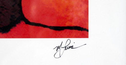 """Marilyn Monroe """"Red Marilyn"""" by Mark Lewis"""