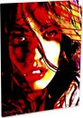 "Megan Fox ""Red Tomorrow"" by Mark Lewis"