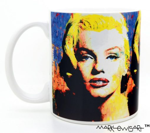 """Marilyn Monroe Mug """"Right To Twinkle"""" by Mark Lewis"""