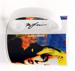 "Marilyn Monroe Mug ""Right To Twinkle"" by Mark Lewis"
