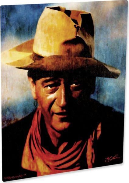 "John Wayne ""Spirited Heart"" by Mark Lewis"