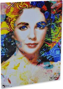 "Liz Taylor ""Sweet Adoration"" by Mark Lewis Art"