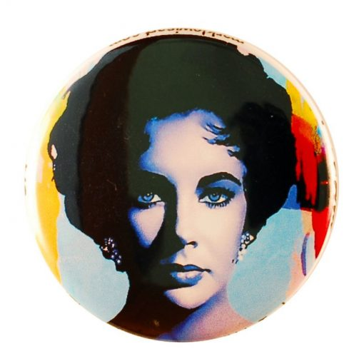 """Elizabeth Taylor """"The Color Of Passion Two"""" by Mark Lewis"""