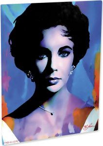 "Elizabeth Taylor ""The Color Of Passion 2"" by Mark Lewis"