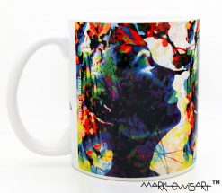 Grace Kelly Mug - The Quarrel Of Emancipation by Mark Lewis