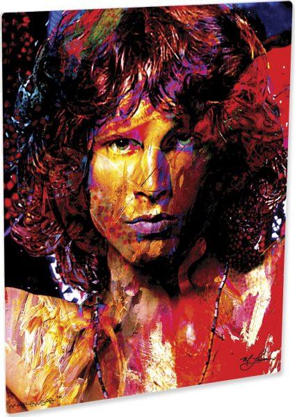 "Jim Morrison ""Window Of My Soul"" by Mark Lewis"