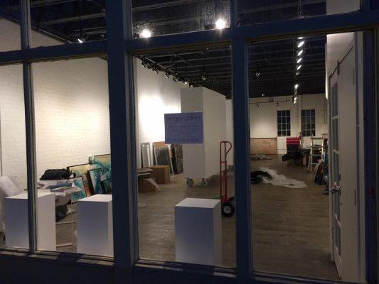 Fringe Gallery - Mark Lewis Art Installation