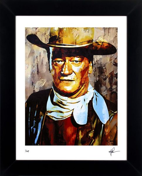 "John Wayne Print ""Gallant Duke"" by Mark Lewis"