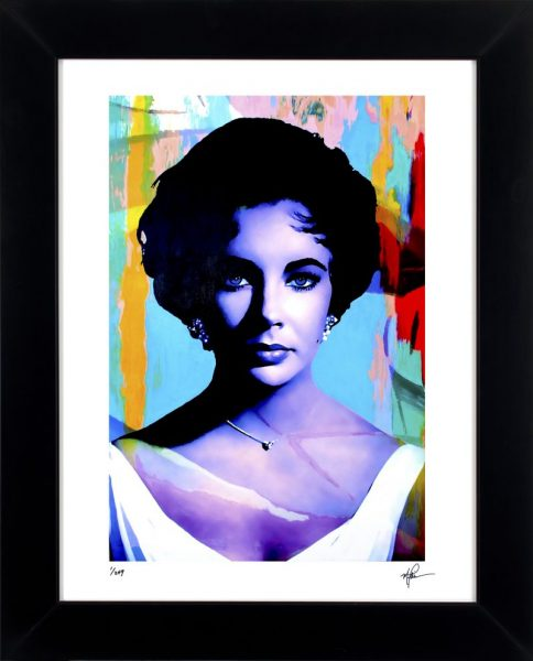 "Elizabeth Taylor ""The Color Of Passion Two"" by Mark Lewis"