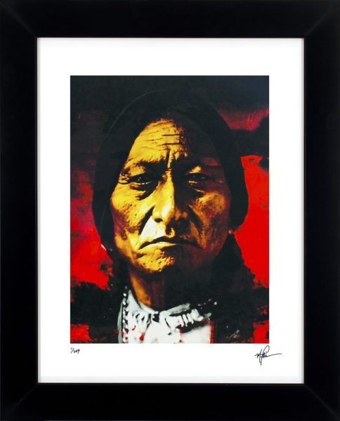 """Sitting Bull """"Behold The Sun"""" by Mark Lewis"""