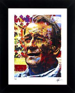 "John Wayne ""Faded Glory"" by Mark Lewis"