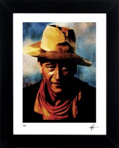 "John Wayne ""Spirited Heart"" by Mark Lewis"