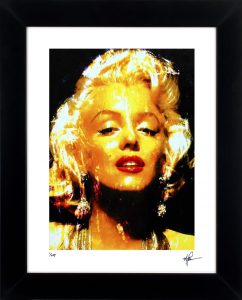 "Marilyn Monroe ""Marilyn Restoration"" by Mark Lewis"