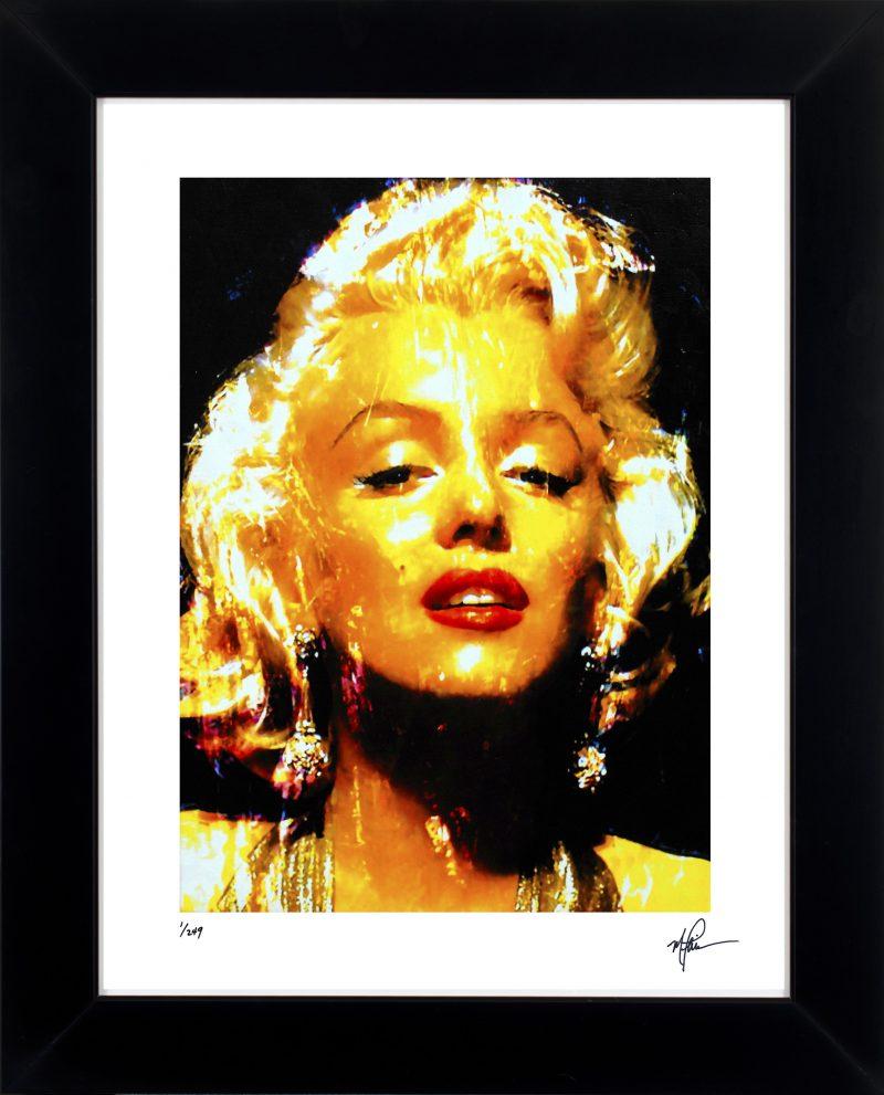 Marilyn Monroe art print framed painting refined wall decor | Mark ...