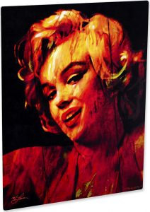 Marilyn Monroe Chanel Date art print