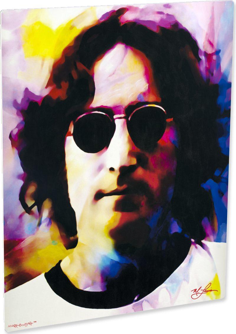 Superb John Lennon Art Print Painting Wall Decor Mark Lewis Art