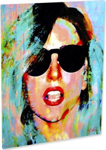 "Lady Gaga art print wall decor ""Everyday Art"" front"