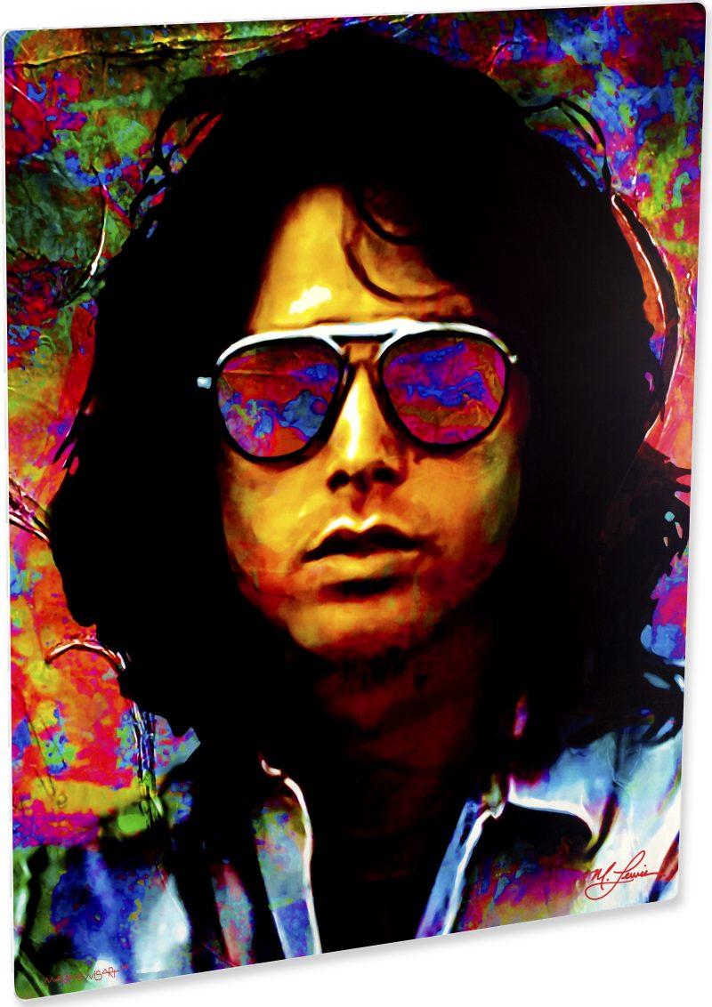 Exciting Jim Morrison art print painting wall decor | Mark Lewis Art