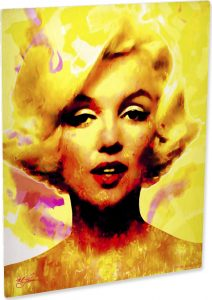 Marilyn Monroe Journey Of Fame art print