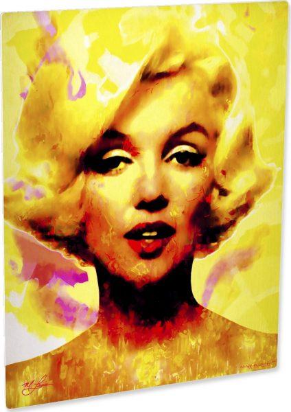 Marilyn Monroe Journey Of Fame art print