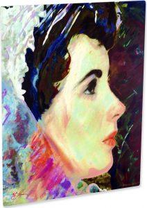 Liz Taylor Art Print Marriage With Liz