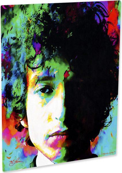 Bob Dylan art print Natural Memory