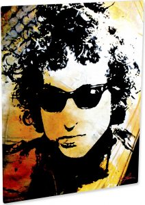 Bob Dylan art print Song Of Freedom
