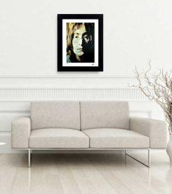 """John Lennon art print """"John Lennon Study 4"""" lep home"""
